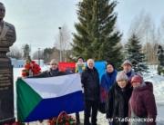 Акция памяти защитников Москвы на Рубеже Славы 20.02.2021